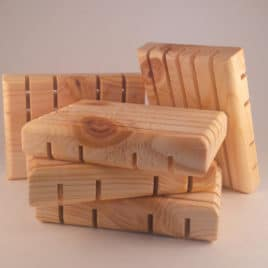 Soap Deck <br><small>Wooden Soap Dish</small>